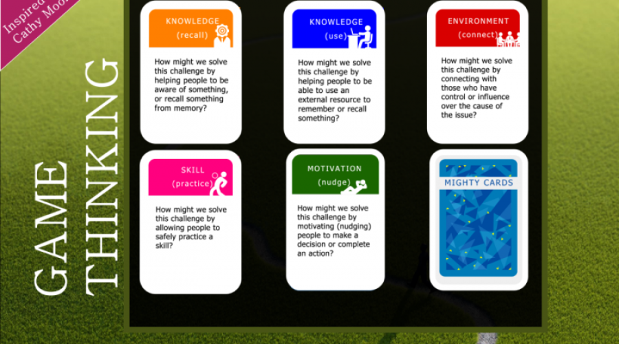 Action Mapping Tool: Mighty Cards